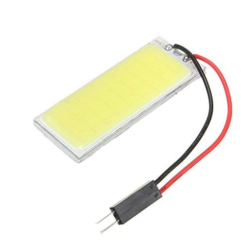 Demiawaking 2pcs Xenon HID Bianco 36 COB LED Lampada Interna del Pannello dell'Automobile