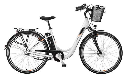 Telefunken E-Bike 28 Zoll Elektrofahrrad - Rücktritt & 7-Gang Shimano Nabenschaltung, Pedelec Citybike Alu mit Fahrradkorb, 250W und 10Ah, 36V Sitzrohrakku, RC756 Multitalent*