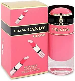 Pradà Candy Gloss by Pradà Eau De Toilette Spray for Women 1.7 OZ.