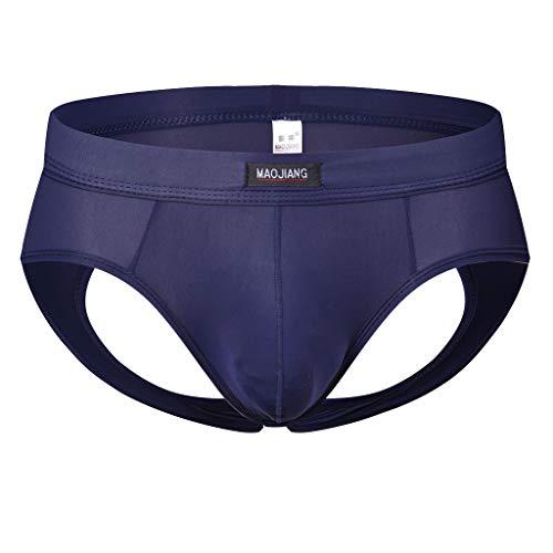 des sous - Vêtements Sexy Slip Hommes - Men Shorts Triangle Slip Confortable Respirable Bulge Pouch Soft Slip des MéMoires MâLe éLéGant ÉLasticité éLevéE Pantalon de Pyjama