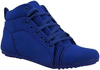 Footshez Women's Blue Casual Shoes