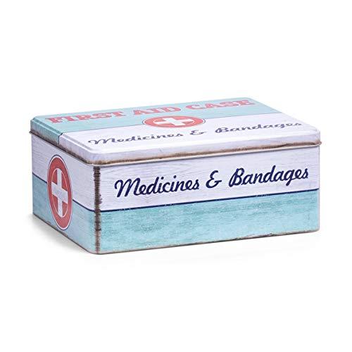 Zeller 19226Medicina Box First Aid, Metallo, ca....