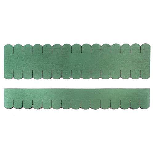 Martinshof Rothenburg Diakoniewerk Mini tejas de techo (33 mm), color verde