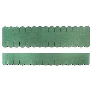 Tejamaniles planos (23.409) (33mm)–Juego de 2 unidades–Verde