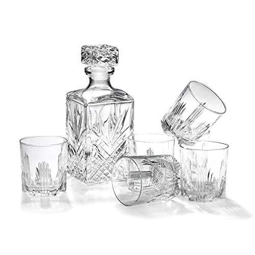 Listado de Licoreras de vidrio, tabla con los diez mejores. 14
