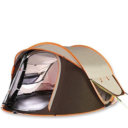 Equipo para acampar Tienda para acampar Tienda para exteriores 3-4 personas Tienda para acampar automática Acampar Acampar Doble parasol y lluvia para disfrutar del paisaje Senderismo Montañismo Vi