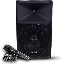 Gemini Sound GSP-2200 Pro Audio Indoor Outdoor Ultra Powerful DJ Bluetooth 2200W Watts Peak, 15
