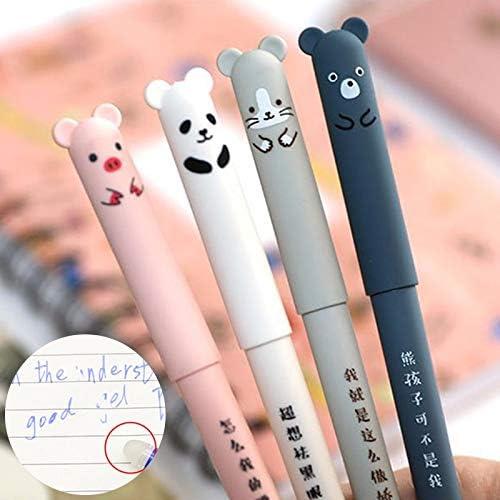 Details about  /26 unids//lote animales lindo bolígrafo borrable recargable conjunto lavable