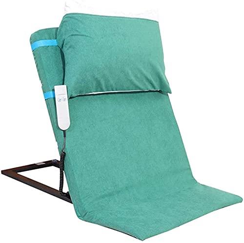 WXking Ajustable acolchado eléctrico Ajustable Sit-up Frame Frame Frame, Ayuda de soporte trasero Ayuda para el respaldo de la cama de elevación de potencia anciana para la cabeza de la cabeza de la c