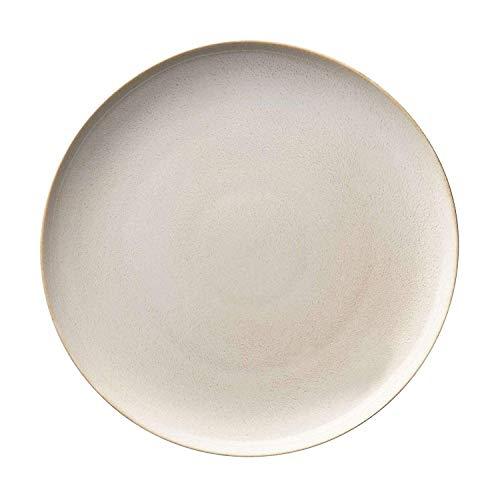 ASA 27141107 Lot de 2 assiettes à dessert Sable Sable D. 21 cm
