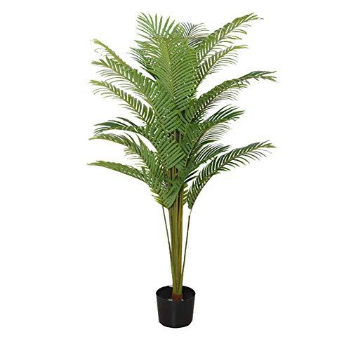 Kw-tool Plantas en macetas simuladas, Plantas de árboles Artificiales, para Sala de Estar, Centro Comercial, decoración de Hotel (con Maceta),200cm