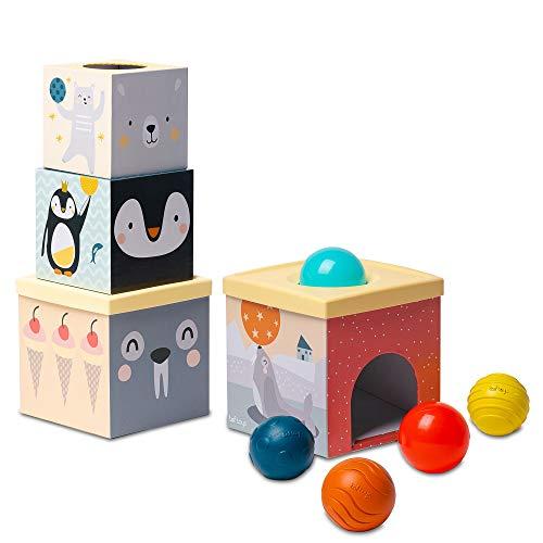 Taf Toys- Caja de Bolas Sabana, Color (12735)