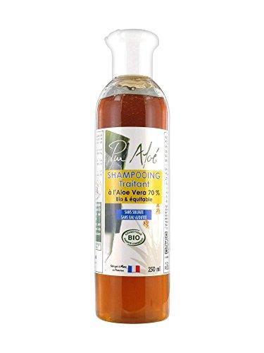 Pur Aloé Shampoing Traitant à l'Aloe Vera 70% Bio 250 ml