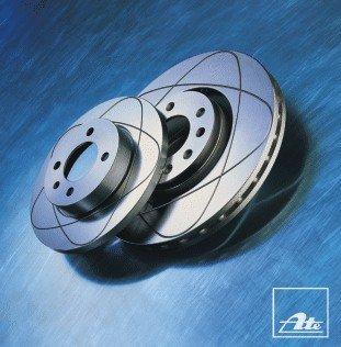 2x ATE Disque de frein pour SAAB 9-3 YS3F pour OPEL VECTRA C GTS