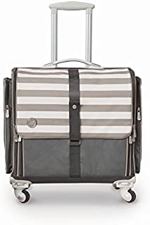 360-Degree Fold Up Crafter's Bag by We R Memory Keepers | Gray & White