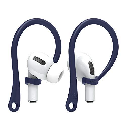 elago EarHooks AirPods Ohrbügel Kompatibel mit Apple AirPods Pro und AirPods 1 & 2 Ohrhalter [US Patent Angemeldet] (Jean Indigo)