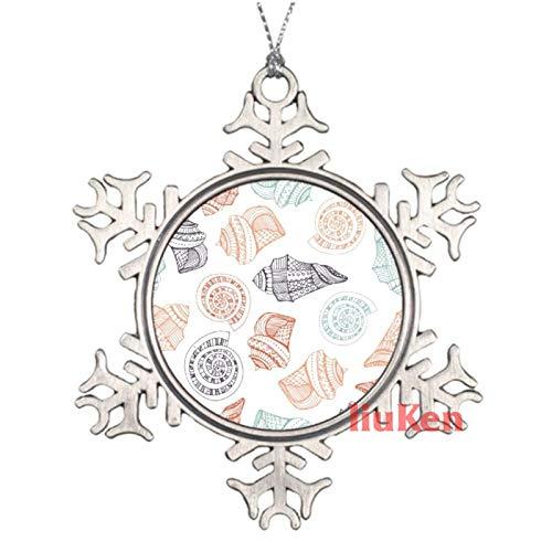 happygoluck1y - Adornos de Navidad para árbol de Navidad, diseño de peces de mar y estrellas de mar, recuerdo de Navidad 2020, regalos de Navidad para niños, niñas y mujeres decoración del hog