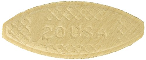 PORTERCABLE 5553 Plate Joining Biscuits quot20quot  250 biscuits/ pack Pack of 4 1000 biscuits