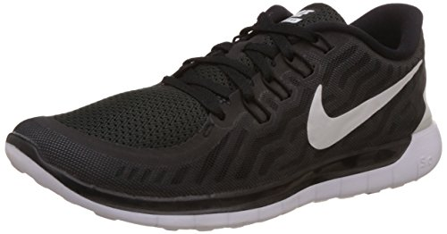 Mens Nike Free Trainer 5.0 Training Shoe Black/Dark Grey/Cool Grey/White Size 15 M US