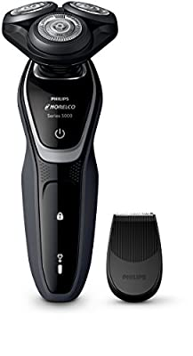 Philips Norelco Electric Shaver 5100 Wet & Dry, S5210/81, with Precision Trimmer