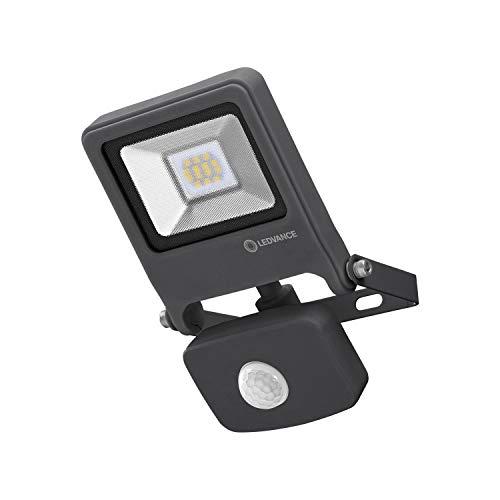 LEDVANCE LED Fluter, Leuchte für Außenanwendungen, integrierter Bewegungssensor, Warmweiß, 125,0 mm x 101,0 mm x 29,0 mm, ENDURA FLOOD