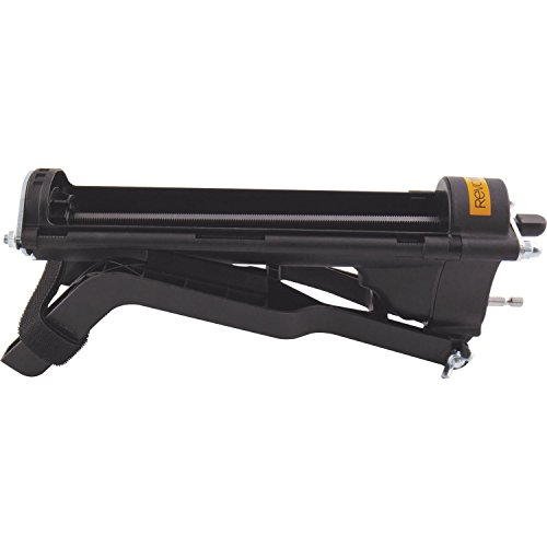 Revotool PRO450 Kartuschenpresse Pro 450 für 310 ml Kartuschen, passend für alle Akku-Bohrmaschinen von 12 Volt bis 18 Volt, hydraulische, Silikon-Presse