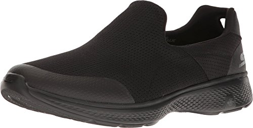 Skechers Performance Men's Go Walk 4 Incredible Walking Shoe, Black, 10 M US