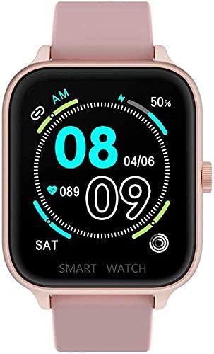 Smart Watch 1 69 pulgadas HD pantalla grande Bluetooth llamadas teléfono inteligente pulsera fitness Tracker inteligente deportes reloj salud actividad actividad Tracker gris rosa