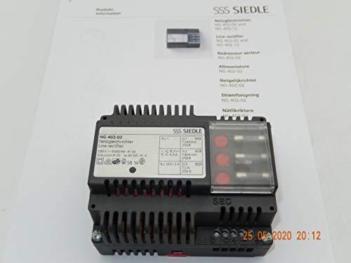 Siedle NG 402-02 Netzgleichrichter für Sprechanlage Netzgerät Netztrafo geb.