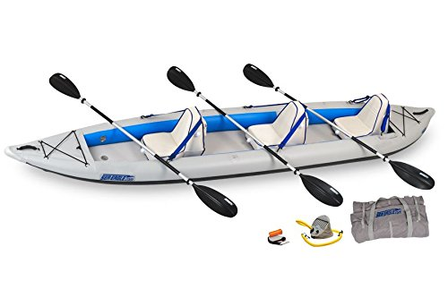 Sea Eagle 465 FastTrack Inflatable Kayak Deluxe Package