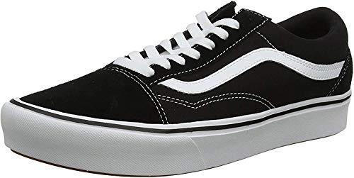 Vans Unisex-Erwachsene UA ComfyCush Old S Sneaker, Mehrfarbig ((Classic) Black Vnvne), 44 EU