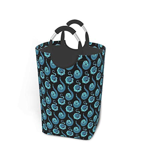 Meiya-Design Laundry Hamper Storage Bin Tentacle Paisley Large Collapsible Storage Basket for Dirty Clothes Toys Books
