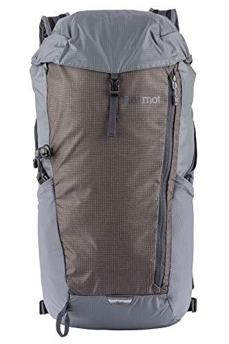 Marmot Kompressor Plus, ultra-leichter Rucksack, Daypack, Tagesrucksack, faltbar, 20 L Fassungsvermögen, wiegt nur 366g ,Cinder/Slate Grey