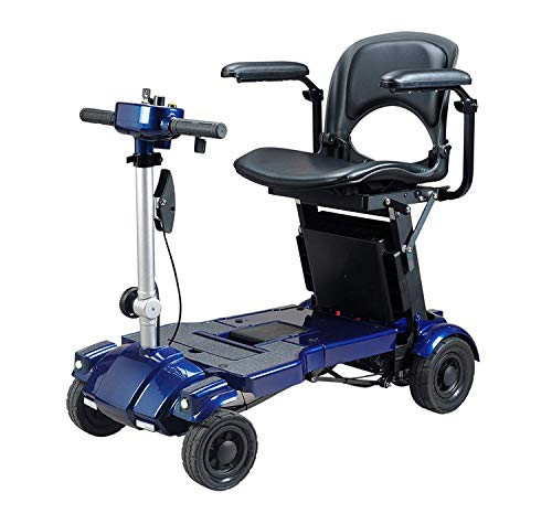 For Sale! Iliving I3 Lightweight Foldable Electric Mobility Scooter, only 53 Pounds with Deluxe Seat...