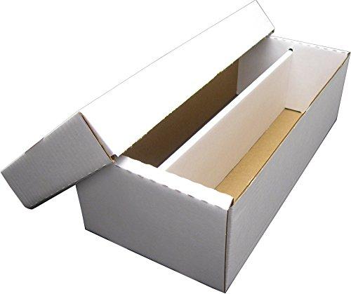 BCW Shoe 2 Row Storage Box (1600 Ct.) - Corrugated Cardboard Storage Box - BX-SHOE