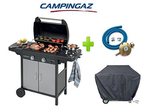 Barbecue A Gas GPL 2 Series Classic Vario EXS CAMPINGAZ + Kit REGOLATORE + Telo Copertura