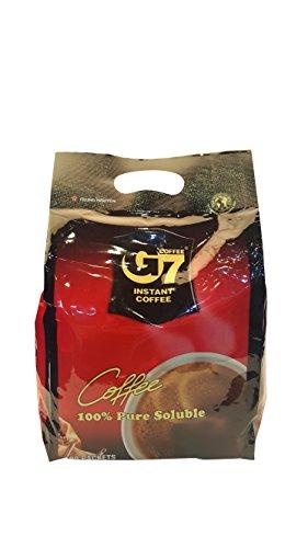 G7 Black Instant Vietnamese Coffee 7.05 ounces (200gram), 100 Packets