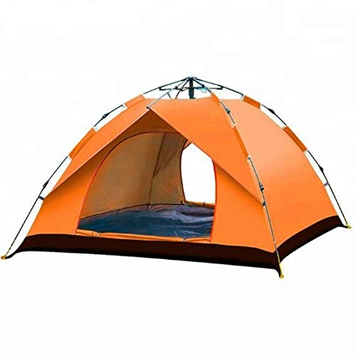 Pop Up Camping Tents, Lightweight Instant Beach Tents, Sun Shelter for 1-2 Person, Waterproof Windproof Automatic Portable Tent Outdoor Cabana for Family Hiking Mountaineering Climbing Hunting Fishing