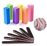 Lima de uñas,Gel nail files and buffers block,Nail file and buffer set for gel nails,Nail Care Buffer Block,for Trim Nail