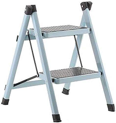 Taburete plegable fácil y multifuncional con peldaños, escalera de 2 peldaños Taburetes con peldaños Escalera para niños Escalera para el hogar Escalera de aislamiento Escalera de hierro Escalera, blanco: Amazon.es: Hogar