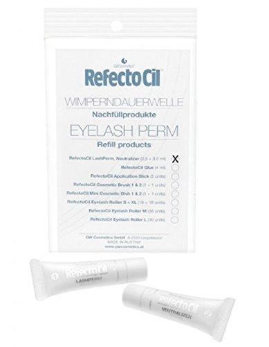 RefectoCil Lashperm & Neutralizer 1 x (3,5ml+3,5ml) Refecto Cil Nachfüllprodukte für Wimperndauerwelle Eyelash Perm
