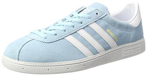 adidas Originals Herren München Sneaker, Blau (Icey Blue), 39 1/3 EU
