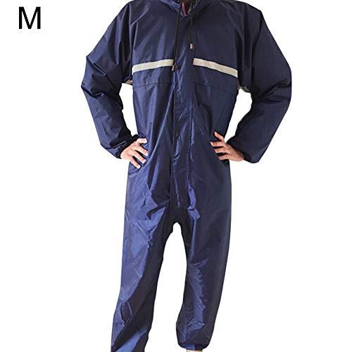 Jinclonder Stofdichte eendelige werkkleding met capuchon waterdichte antistatische spuitverf strikken stofvrije werkkleding regenjas, antistatische spuitverf, schuurstof