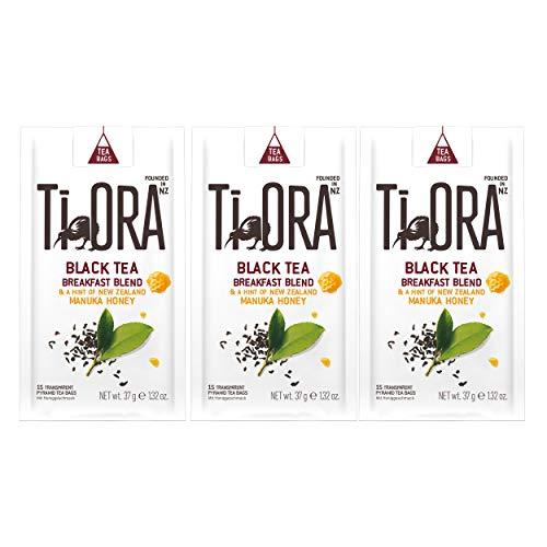 Ti Ora Black Tea, Schwarzer Tee, Schwarztee, Teegetränk, Getränk, 45 Teebeutel, á 2.5 g