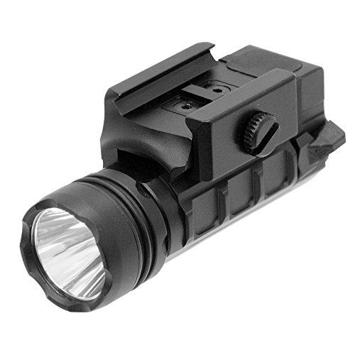 UTG LT-ELP123R-A 400 lm Sub-Compact LED AMBI Pistol Light,Black