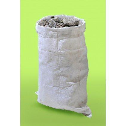 lot de 5 sacs multi-usages gravats déchets en polypropylène tissé