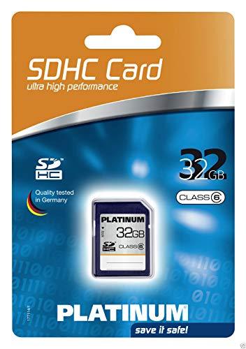 Platinum 32 GB Class 6 SDHC Speicherkarte 177114