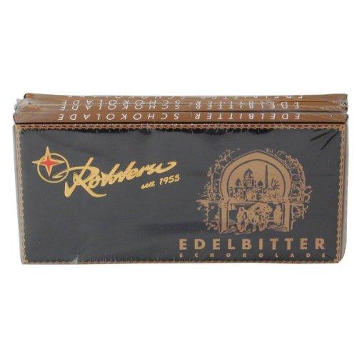 Rotstern GmbH & Co. KG: Rotstern Schokolade - Edelbitter - 1 Packung mit 4 Ta...