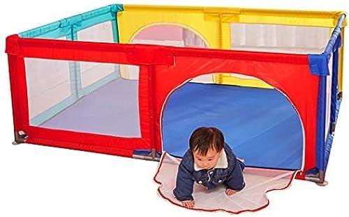 entrega rápida Adceer Valla De Juego para Bebés, Gran Cerca Cerca Cerca De Seguridad para Gatear De La Familia Pequeña Desmontable para Interiores  en promociones de estadios