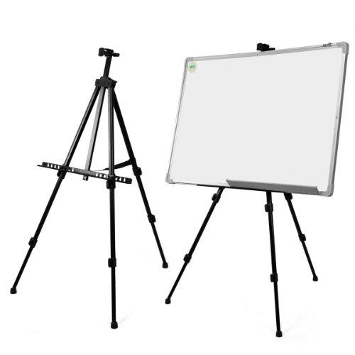 Haude Whiteboard Staffelei für Künstler, Teleskopstaffelei, Stativ